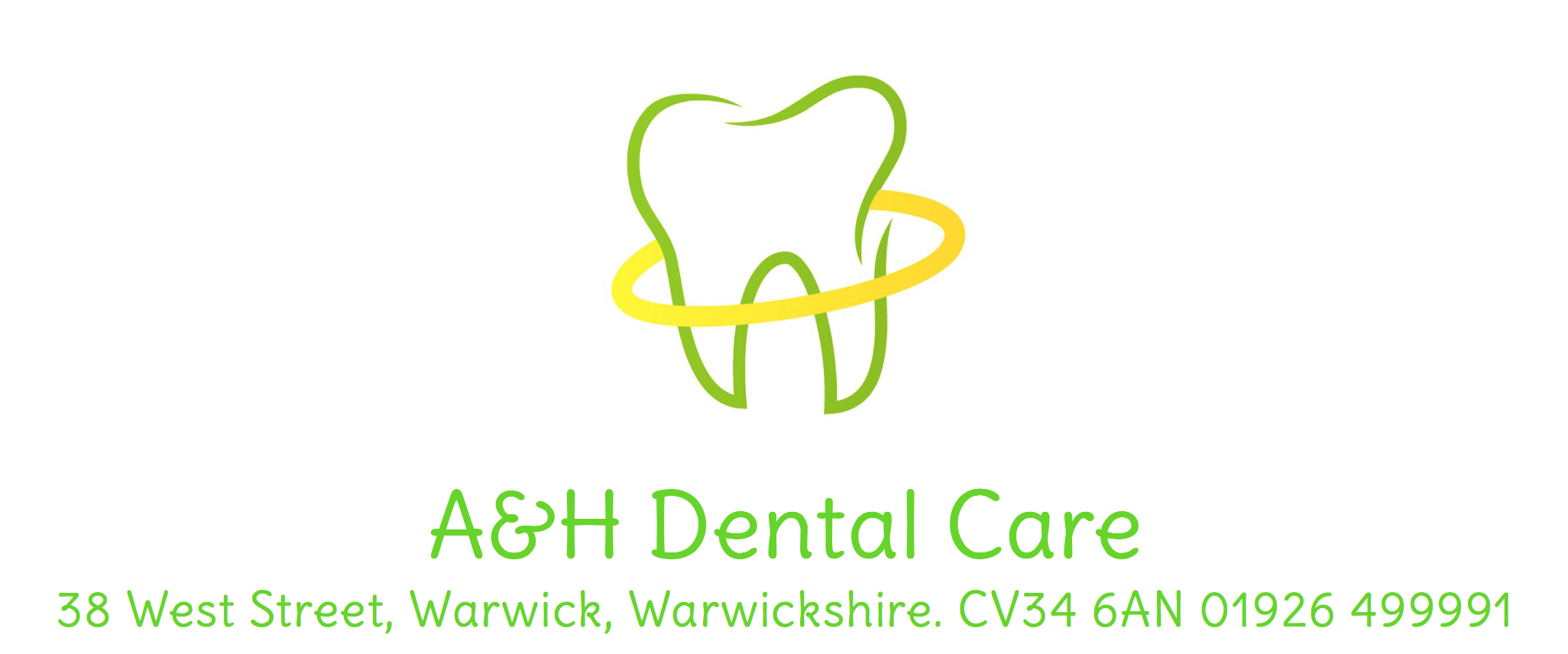 A and H Dental Care 38 West Street Warwick Warwickshire CV34 6AN 01926 499991