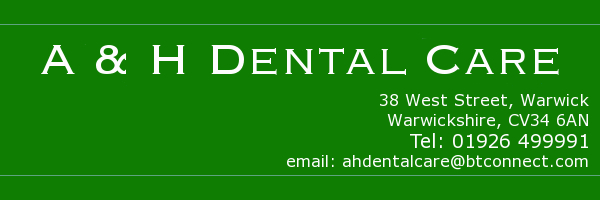 A and H Dental Care Banner