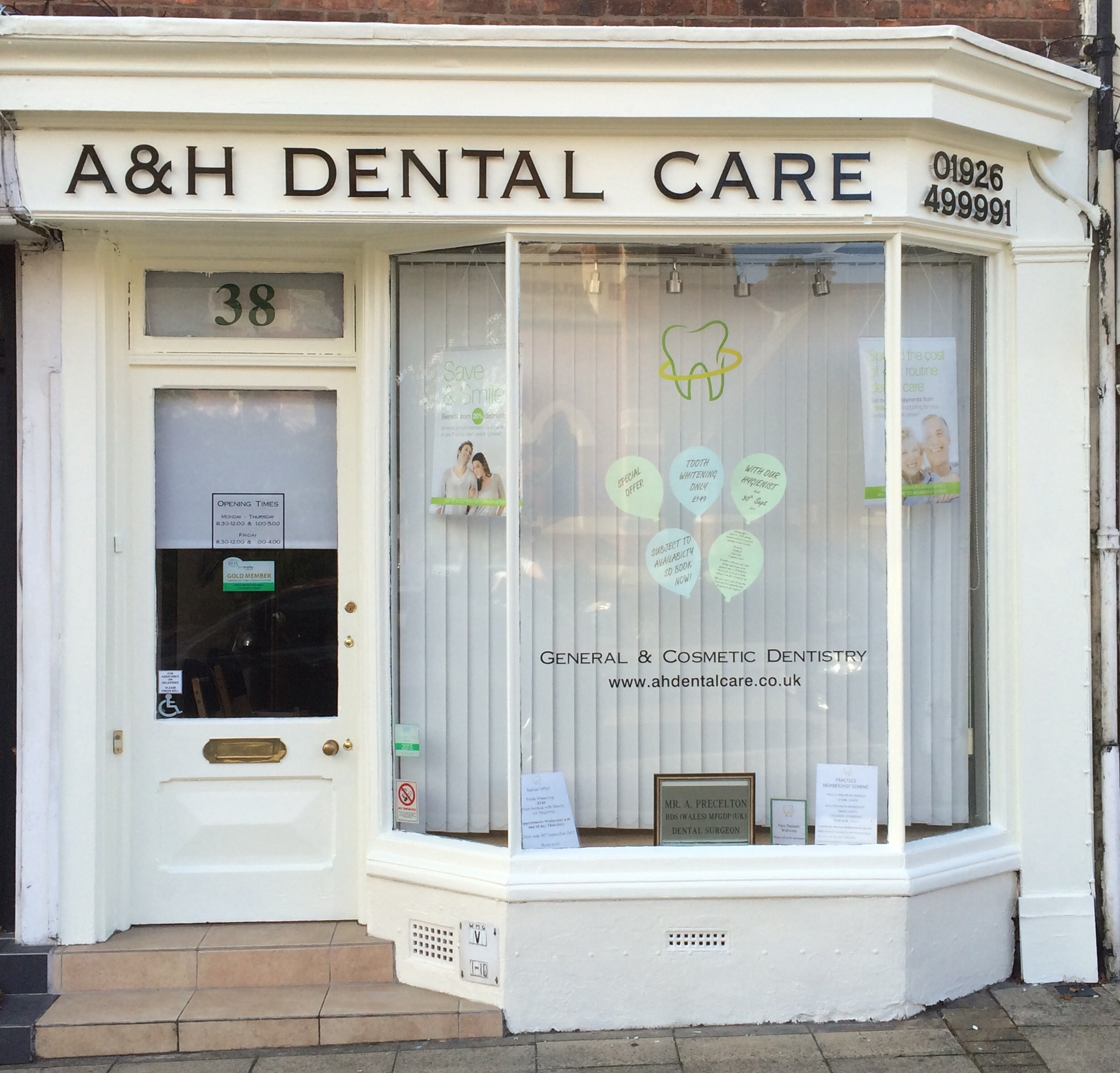 Dentist 38 West Street Warwick